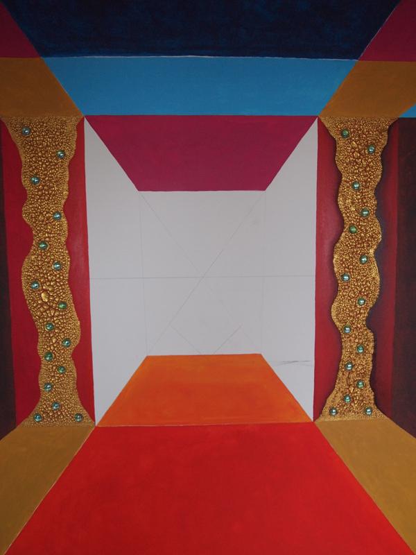 Neu in Arbeit: Leinwand 120 x 150 cm