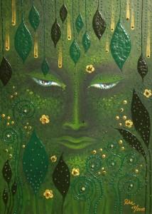 Acrylbild von Rita Gil Brand