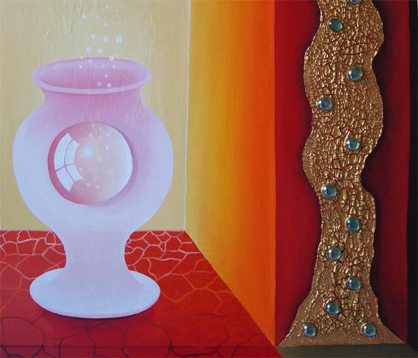 Gemälde 110cm x 150cm, Rita Gil Brand 2014 - Detail