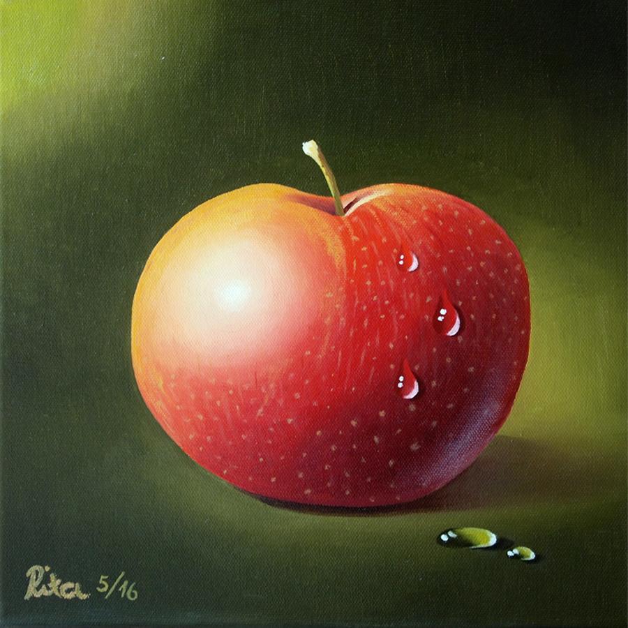 Ölmalerei auf Leinwand, 20 x 20 cm, Rita Gil Brand